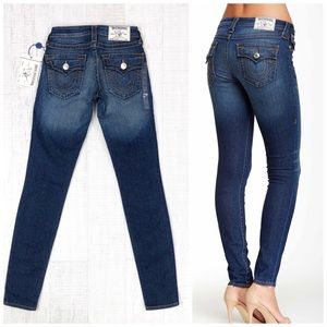 True Religion Flap Pocket Jean Legging Skinny 24